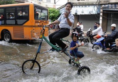 inundación de Tailandia